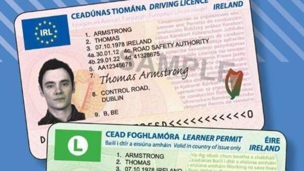 Buy category BE Irish driving licence Buy driving licence categories